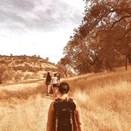 Hike in Bidwell Park. Picture by Ryann Cox.
