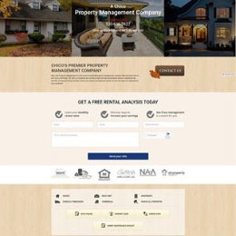Check out this beautiful website we did for blueoakchico.com, a property management company in Chico.