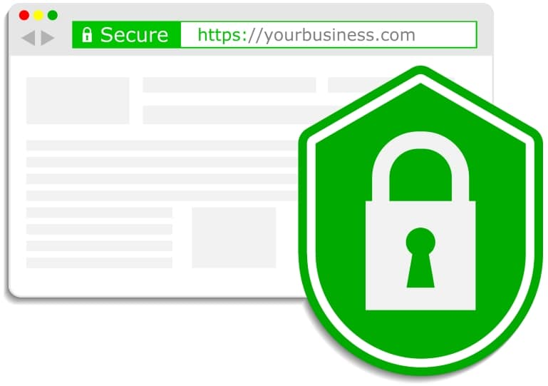 Protect your business with a SSL Certificate, your visitors will thank you for it.