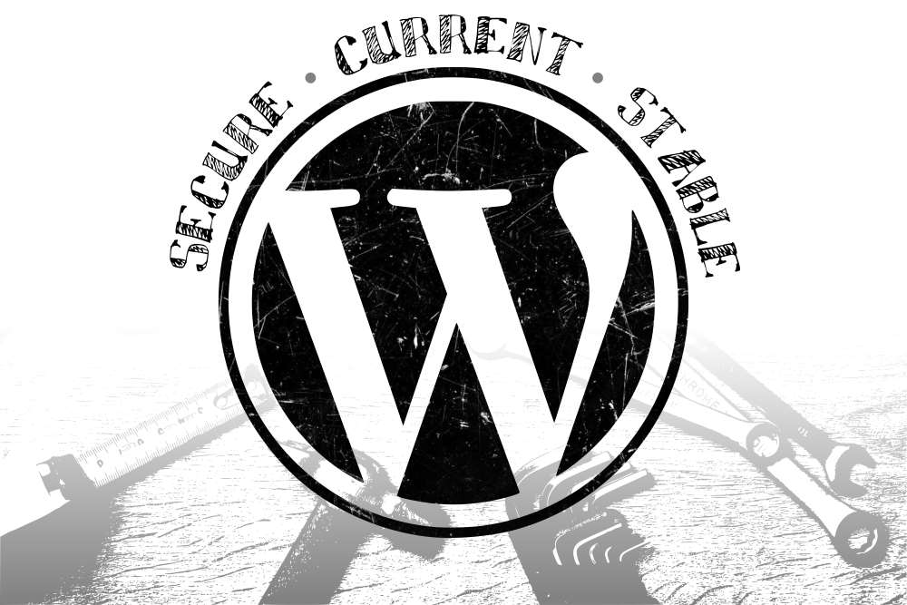 Keep your WordPress updates current, to ensure your website is secure and stable.