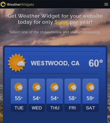 Weather Widgets image