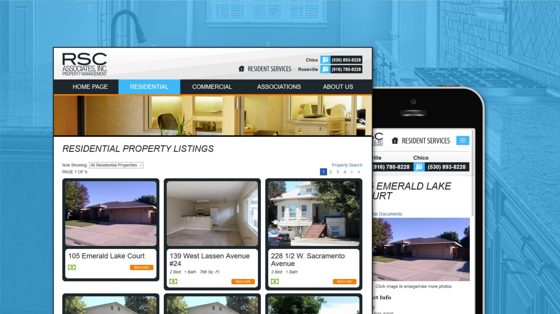 RSC Associates Property Listings.