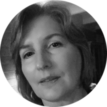 Diane - Web Developer in Black and White